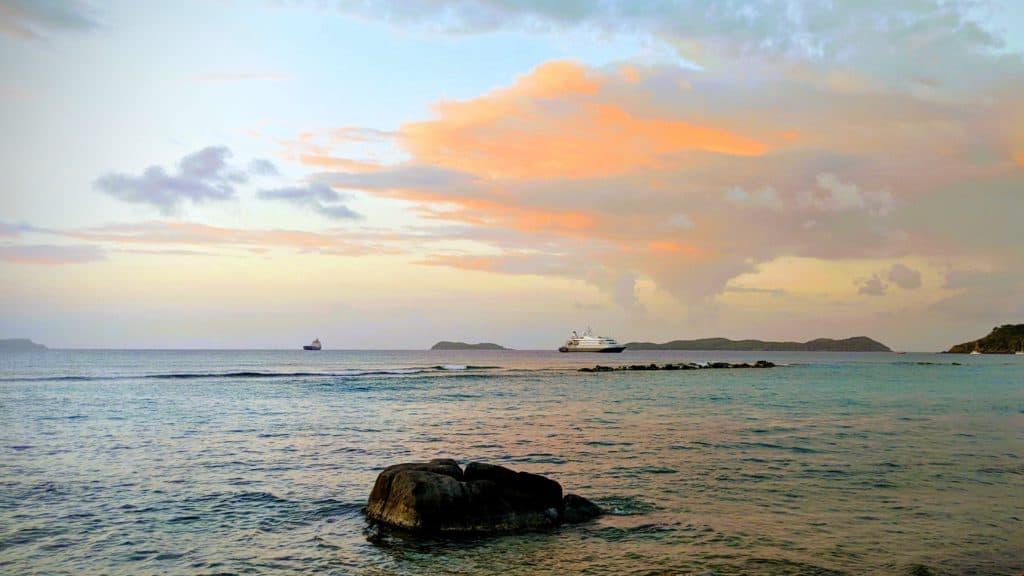 Sunset Ships